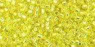 TT-01-0032 Silver-Lined Lemon Treasure 11/0 Toho