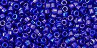 TT-01-0408 Opaque-Rainbow Navy Blue Treasure 11/0 Toho