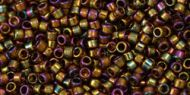 TT-01-0459 Gold-Lustered Dark Topaz Treasure 11/0 Toho