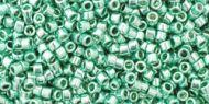 TT-01-0561 Galvanized Green Teal Treasure 11/0 Toho