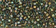 TT-01-0999 Gold-Lined Rainbow Black Diamond 11/0 Toho