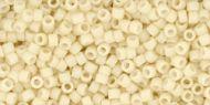 TT-01-0762 Opaque-Pastel-Frosted Egg Shell Treasure 11/0 Toho
