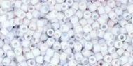 TT-01-0767 Opaque-Pastel-Frosted Light Gray Treasure 11/0 Toho