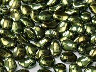TUP-23980/14495 Green Metallic Tulip Petals - 50 x