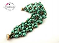 Tamirinde Bracelet Green Turquoise by Akke Jonkhof