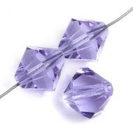Violet 4 mm Bicone Preciosa
