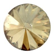 1122 Crystal Golden Shadow Rivoli 14 mm Swarovski
