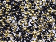 DP-0401/26441 Black Amber (Gold) Drop Miyuki