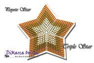 Tutorial Triple 3D Peyote Star + Basic Tutorial Little 3D Peyote Star (download link per e-mail)
