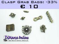 Grab Bag Clasps -33% Antique Bronze