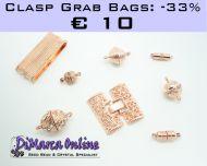 Grab Bag Clasps -33% Rose Gold