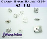 Grab Bag Clasps -33% Silver