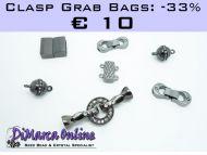 Grab Bag Clasps -33% Black