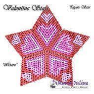 Tutorial Valentine Hearts 3D Peyote Star + Basic Tutorial Little 3D Peyote Star (download link per e-mail)