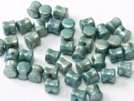 PL-03000/14464 Chalk Blue Lumi Pellet Beads - 60 x
