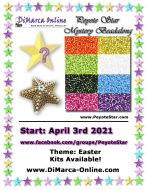 * Peyote Star Beadalong Kit * - April 2021 Easter Star