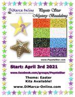 * Peyote Star Beadalong Kit * - April 2021 Easter Star