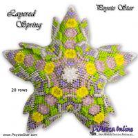 Tutorial Layered Spring 3D Peyote Star + Basic Tutorial Little 3D Peyote Star