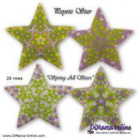 Tutorial Spring All Stars - 3D Peyote Star + Basic Tutorial Little 3D Peyote Star (download link per e-mail)