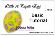 Basic Tutorial - Little 3D Peyote Egg (download link per e-mail)