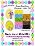* Peyote Egg Beadalong Kit * March 2021 - Easter