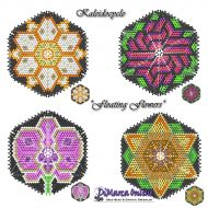 Tutorial Floating Flowers Kaleidocycle + Basic Tutorial (download link per e-mail)