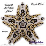 Tutorial Layered Art Deco Flakes 3D Peyote Star + Basic Tutorial Little 3D Peyote Star