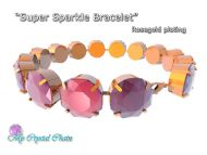 Super Sparkle Bracelet Kit Rose Gold