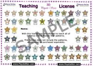 Teaching License Peyote Stars DiMarca Online